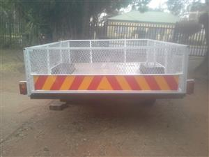1.5 ton cage trailer for sale