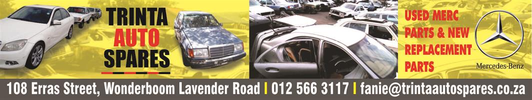 All models of Mercedes Benz spares and parts available