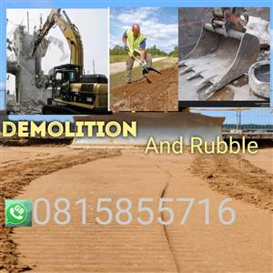 Utmost demolition and Tipper truck hire services 0815855716