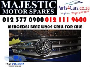 Mercedes benz W204 grill for sale