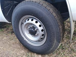 4x Brand new Ford Ranger rims & tyres for sale