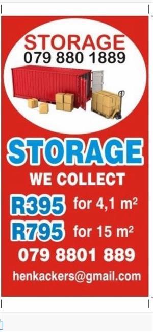 Storage and Self-storage