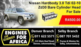 Nissan Hardbody 3.0 Tdi 02-10 Zd30 Bare Cylinder Head New For Sale