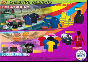 BULK SCREEN PRINTING AND EMBROIDERY