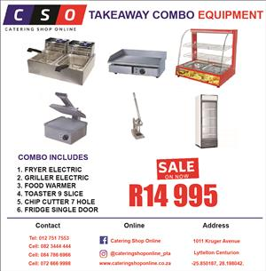 Takeaway Combo Equipment Special