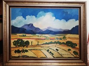 Hartman van Lingen Original Oil Painting