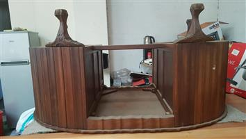 Antique Stinkhout ball and claw desk