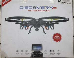 Discovery fdv 720 drone in a box with remote S036235A