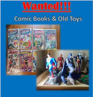 Cash For Your Old Toys & Comics