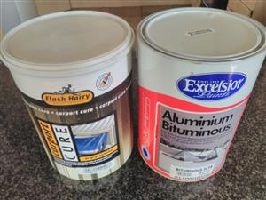 Paint and Sealer