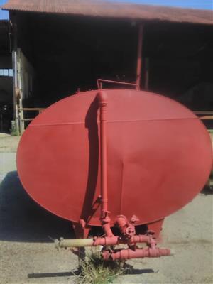 Tank water 5000lit steel water tank