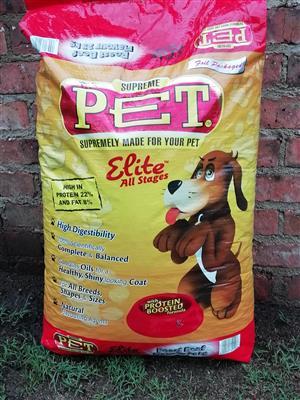 Supreme pet dog food