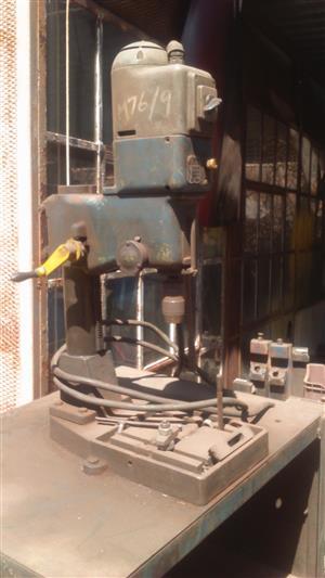 Industrial Gear driven drill press