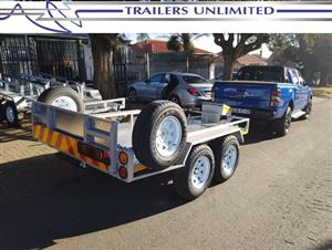 TRAILERS UNLIMITED 3500 X 2000 X 200 BIKE TRANSPORTER.