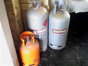 2 19kg gasbottels