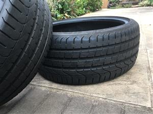 Golf GTI 7/7.5 tyres for sale. Good condition