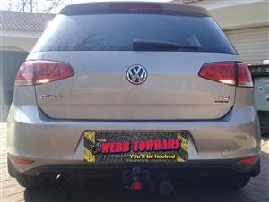 Volkswagen Standard/Detachable Towbars, Double Tube & Step Towbars, Channel Towbars