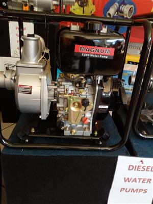 Magnum Diesel 3''/80mm  Water Pump with 6hp Diesel Engine, Price incl Vat