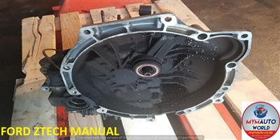 IMPORTED USED FORD ZTEC MANUA GEARBOX FOR SALE