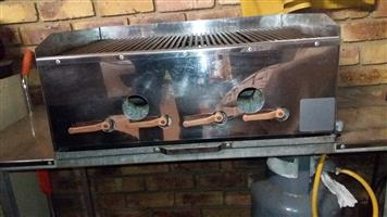 Gas Braai and spit