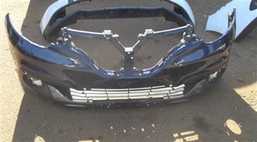 2018 Renault kadjar front bumper