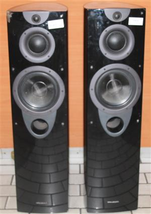 S034467A 2 x Wharfedale speakers with cables #Rosettenvillepawnshop