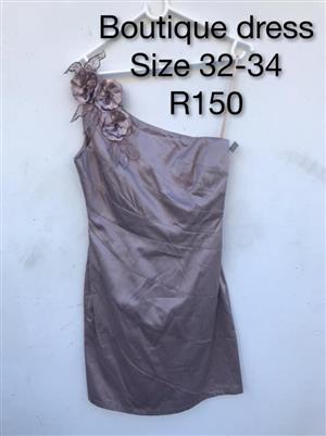 Grey boutique dress for sale
