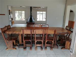 Sleeper bar and dining room set for sale