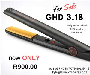 Fully refurbished GHD flat-irons for sale!