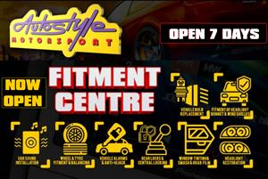Tyre Fitment open 7 days, Open Sundays and public holidays