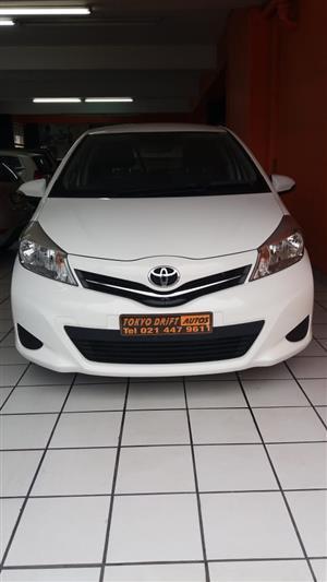2012 Toyota Yaris 1.3 5 door T3+ automatic