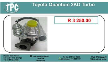 Toyota Quantum 2Kd Turbo For Sale.