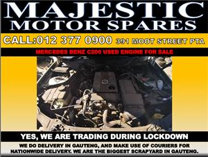 Mercedes benz A200 used engine for sale
