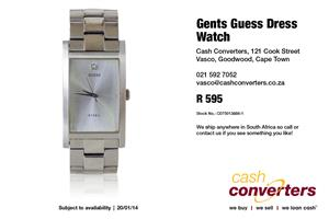 Gents Guess Dress Watch