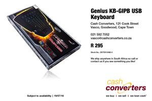 Genius KB-GIPB USB Keyboard