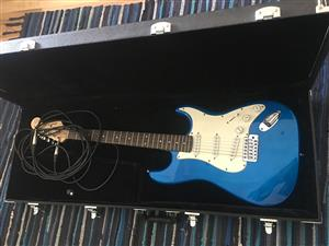 Electric Guitar for beginner with box