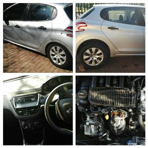 STRIPPING Peugeot 207,Peugeot 208,Peugeot 307 CAR SPARE PART