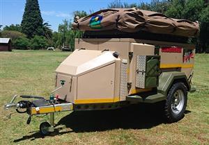 Conqueror Courage 4x4 off road camping trailer