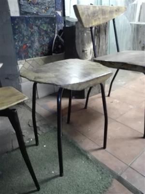 Wooden backless stool for sale