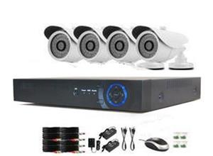 AHD 4ch DVR with 8 X 5MP Camera Kit
