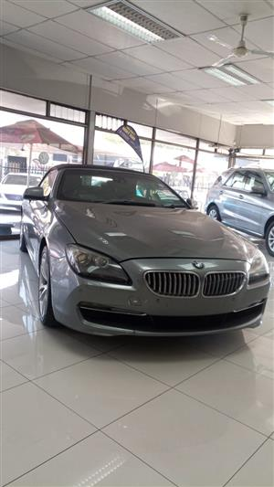 2013 BMW 6 Series 650i convertible