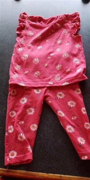 Red pajama set for sale