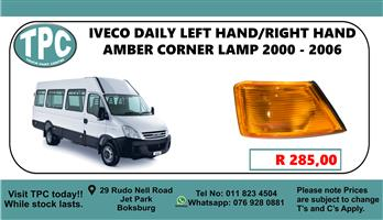 Iveco Daily Left Hand/Right Hand Amber Corner Lamp 2000 - 2006 - For Sale at TPC
