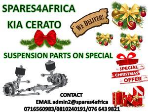   KIA CERATO SUSPENSION PARTS ON CHRISTMAS SPECIAL  