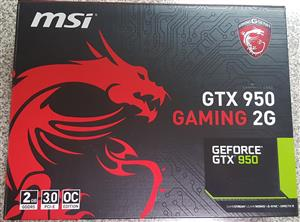 MSI GeForce GTX 950 gaming card for sale  Randfontein