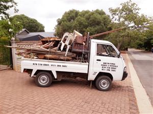 Rubble removal services in Polokwane