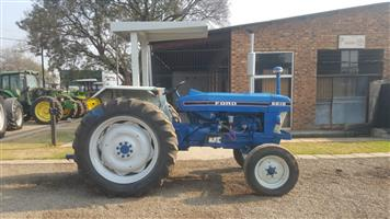 Blue Ford 6610 61kW/80Hp 2x4 Pre-Owned Tractor