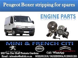 BIG PROMOTION ON PEUGEOT BOXER ENGINE PARTS
