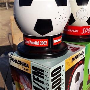 radio soccer ball fm/am shape