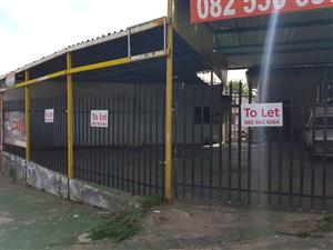 Motor/ Dealer stand to let in Witbank, Klipfontein Area
